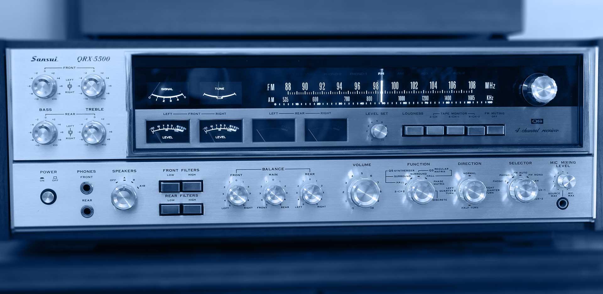 Vintage-Geräte<br/> <small>auch in unserem Shop erhältlich</small>