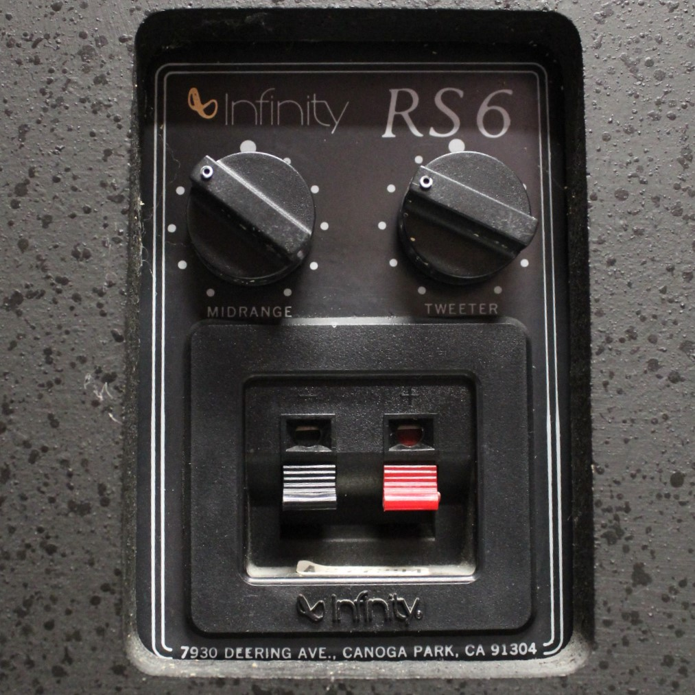 Infinity RS 6 Terminals