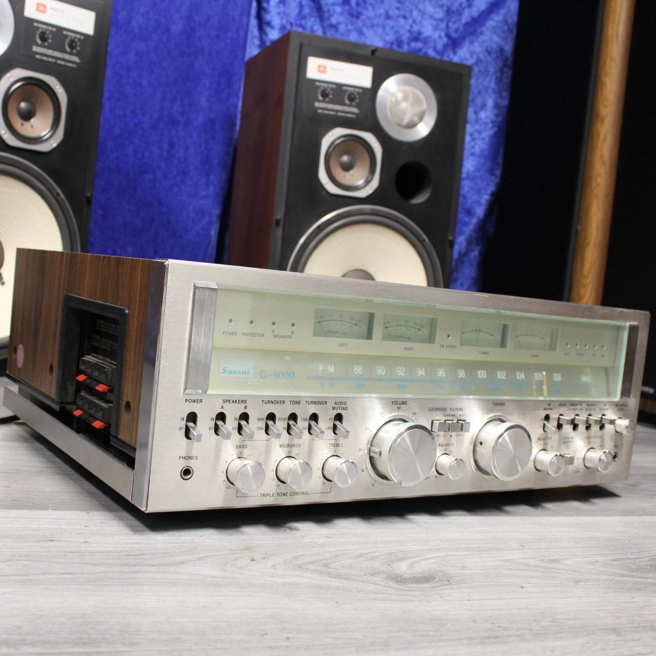 JBL L112  und Sansui G 9000